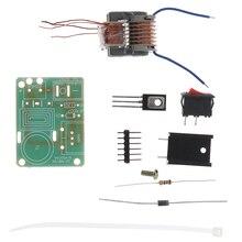 1 ensemble 15KV haute tension onduleur générateur étincelle Arc bobine dallumage Kit de bricolage Module Kit