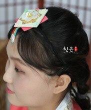Corée du sud importé bandeau corde antique asiatique cheveux accessoires scène coiffure dernières filles cheveux accessoires bandeaux