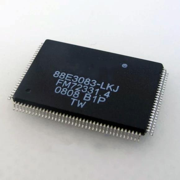 5-20 pces novo 88e3083-lkj 88e3083-lkj1 TQFP-128 ethernet transceptor chip