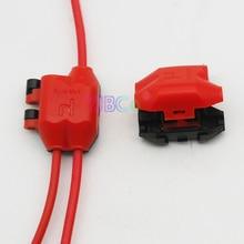 5 pièces Y type Scotch Lock connecteurs de fil dépissure rapide 1pin à 2pin répartiteur de fil lumière led bornes de câble à sertir