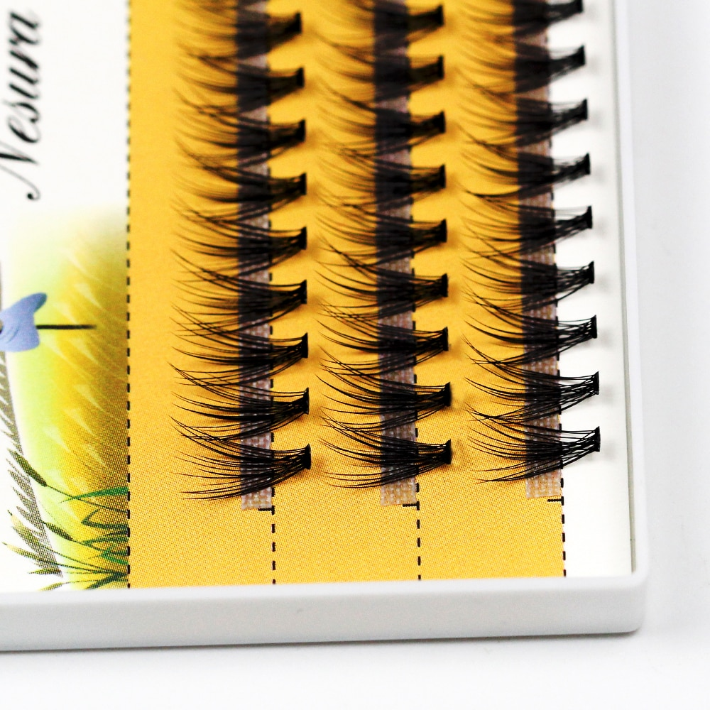 Softer Feel 20D Individual Eyelashes Nesura Eyelashes Premade fan Eyelash Russia Volume Cilia 60 Pieces Clusters