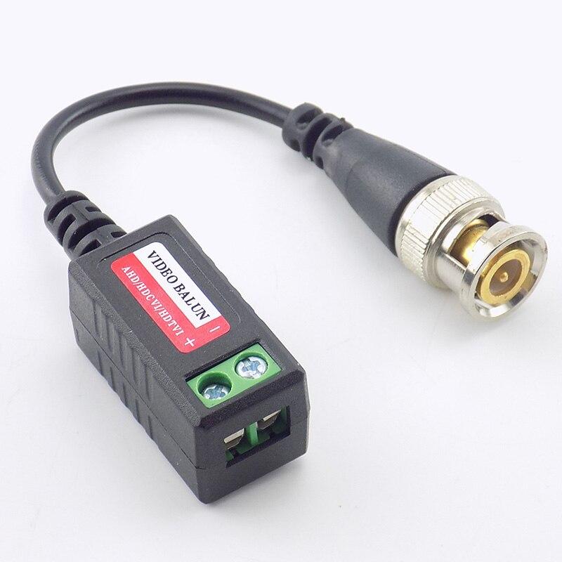 10Pairs CCTV Video Balun CCTV Accessories Passive Transceivers 2000ft Distance UTP Balun BNC Cable enlarge