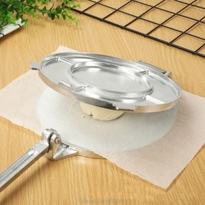 Tortilla Maker Press Heavy Aluminium Meat Press Foldable Gadgets Bakeware Kitchen Accessories Tools Pie Silver N20 20 Dropship