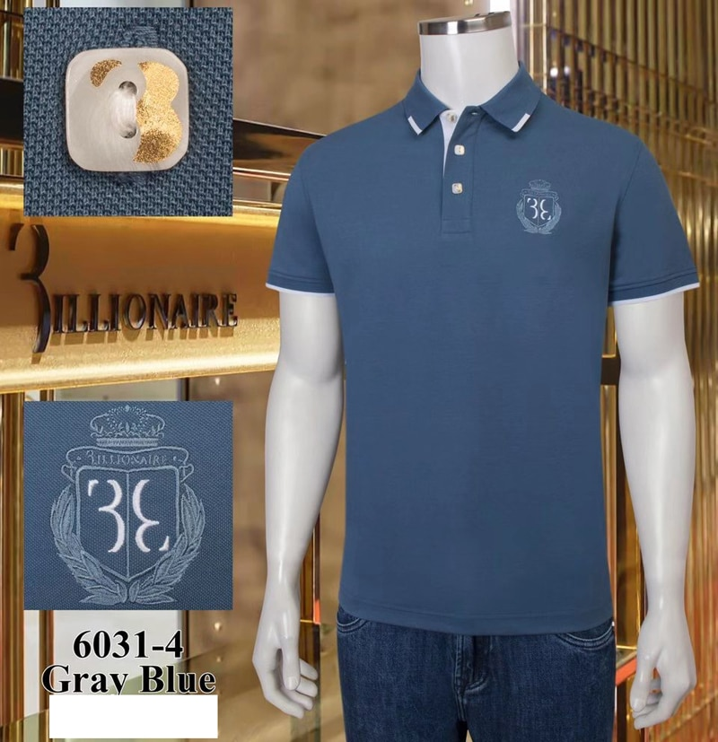 Polo shirt men's cotton 2021 summer Business button embroidery Solid color Short sleeve big size M-4XL high-quality