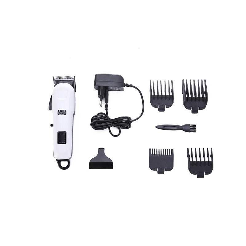 CHJPRO, Afeitadora eléctrica, afeitadora, cortadora de barba, Mini máquina de corte portátil, maquinilla de afeitar para hombres con 4 peines, afeitadora de barba silenciosa para bebés y adultos
