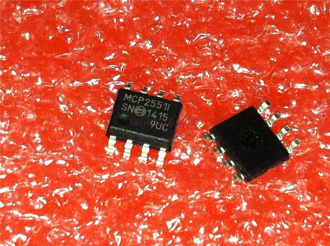 100 шт./лот MCP2551-I/SN MCP2551 MCP2551I SOP-8 в наличии
