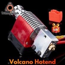 Trianglelab V6 Volcano Hotend 12V/24V Remote Bowen Print J-head Hotend And Cooling Fan Bracket For E3D HOTEND For PT100