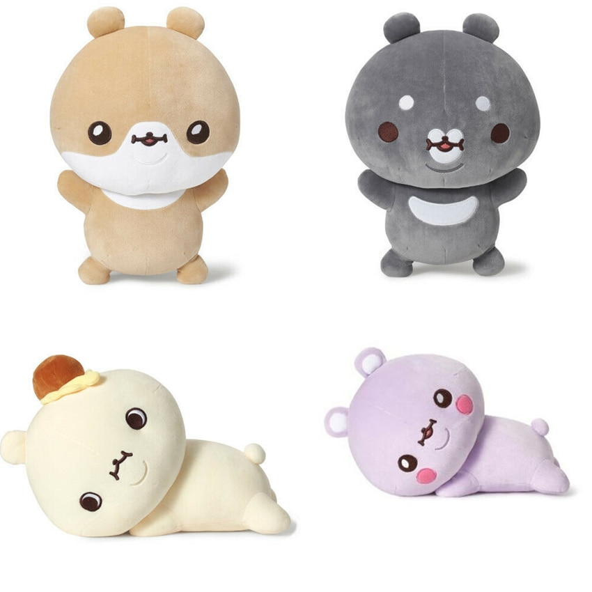 2020 Monsta X K-POP MD juguetes de peluche muñeca Linda dibujos animados suave relleno almohada cojín kawaii decoración de sofá de casa almohada para dormir
