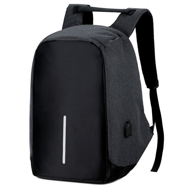 Anti-theft Backpack Bag 15.6 Inch Laptop Men Backpack Waterproof Business USB Charger Rucksack Travel Backbag School Backpack anti theft backpack harry styles print 2020 new men s laptop backpack men s travel backpack business backpack