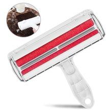 Pet Hair Roller Reusable ABS Fur Roller Self-Cleaning Cotton Wool Removal Comb Epilator Fleece Clean