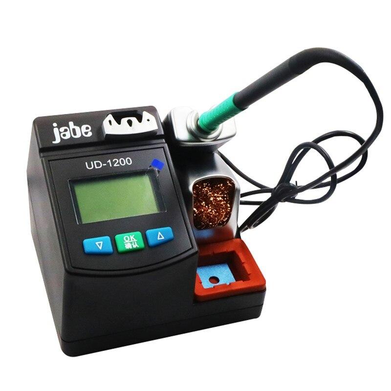 JABE UD1200 original précision intelligent sans plomb station de soudage 2.5S rapide chauffage fer à souder Kit pour réparation mobile