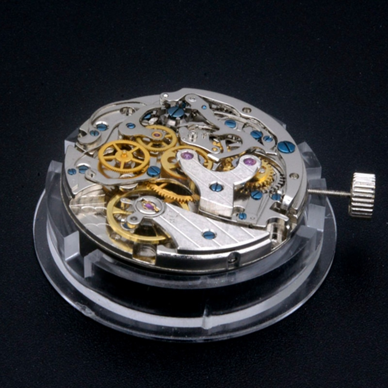 Seagull ST1902 Movement Manual Winding Mechanical Chronograph TY29 Movement Clock Movement Men's Watches Man Watch Repair Parts enlarge