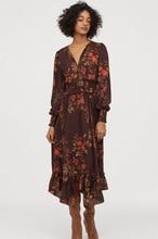 Summer dress 2020 vintage plus size Pleated Print spring zaraing women Dress sheining vadiming female dress Xdn9334