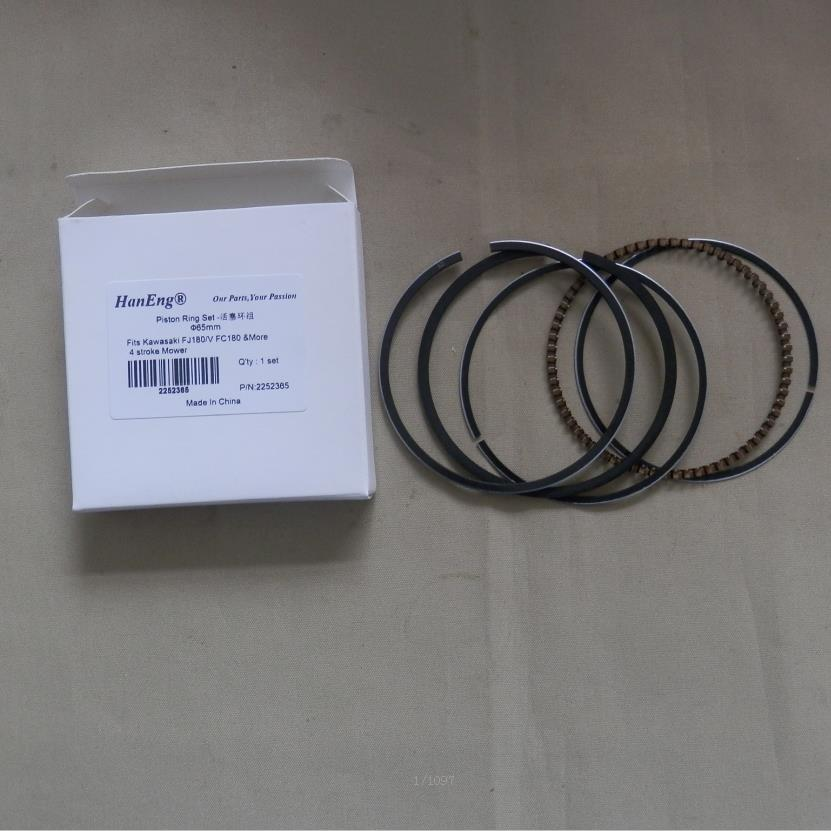 FJ180 набор поршневых колец 65 мм для KAWASAKI FJ180V FC180 4 цикла 6.5HP MTD KAAZ косилка цилиндр боковое масло кольцо компрессионные кольца