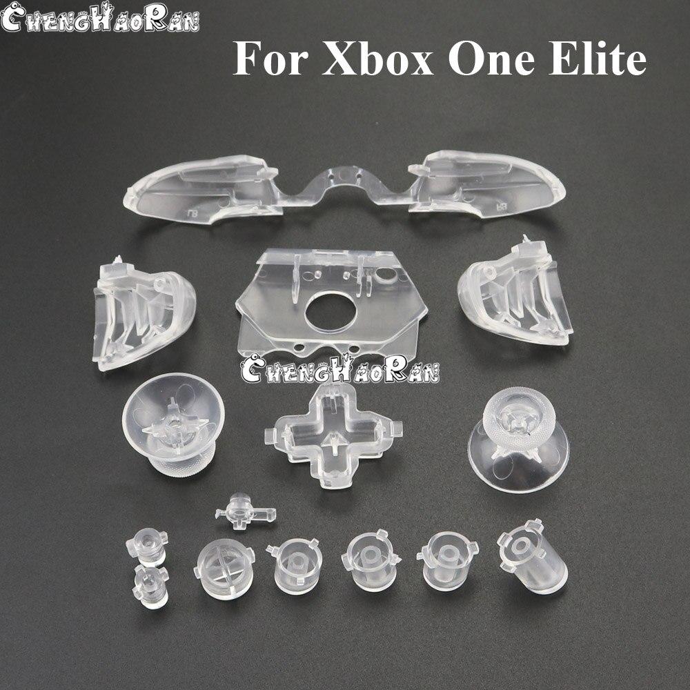 ChengHaoRan 10 juegos para Controlador Xbox One Elite juego completo de botones activadores reemplazo d-pad LB RB LT Kit de botones RT
