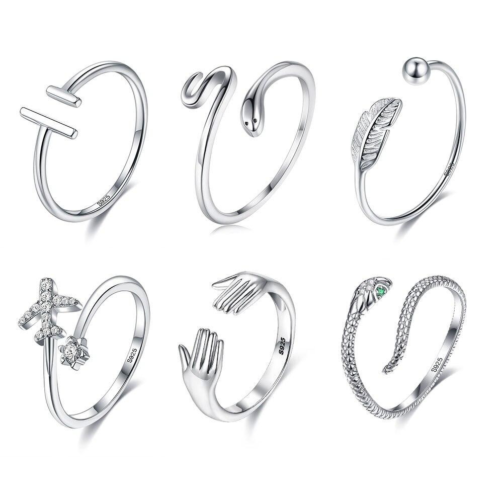 Женское-Открытое-кольцо-в-виде-змеи-из-серебра-925-пробы-с-искусственным-жемчугом