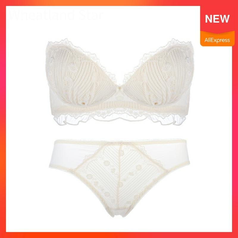 Tube Top Push Up Wireless Bra Set Intimate Underwear Spring Thin Lingerie Feminina Hot Bra and Brief Sets Underwear & Sleepwears