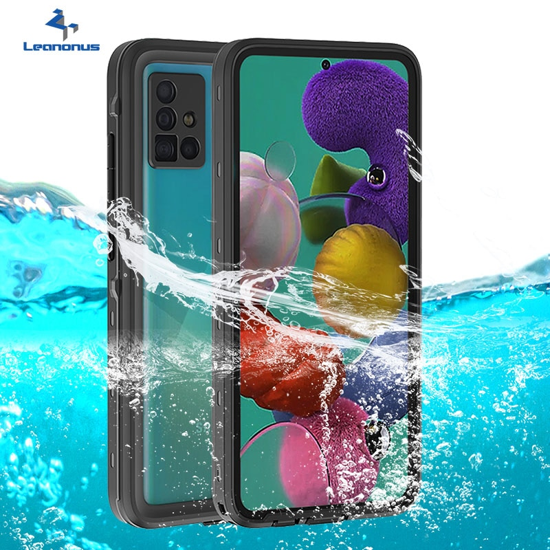 A51 Case Waterproof Case for Samsung Galaxy S21 S20 Plus Dustproof Water-resistant Case for Samsung A51 S20 S21 Ultra Coque