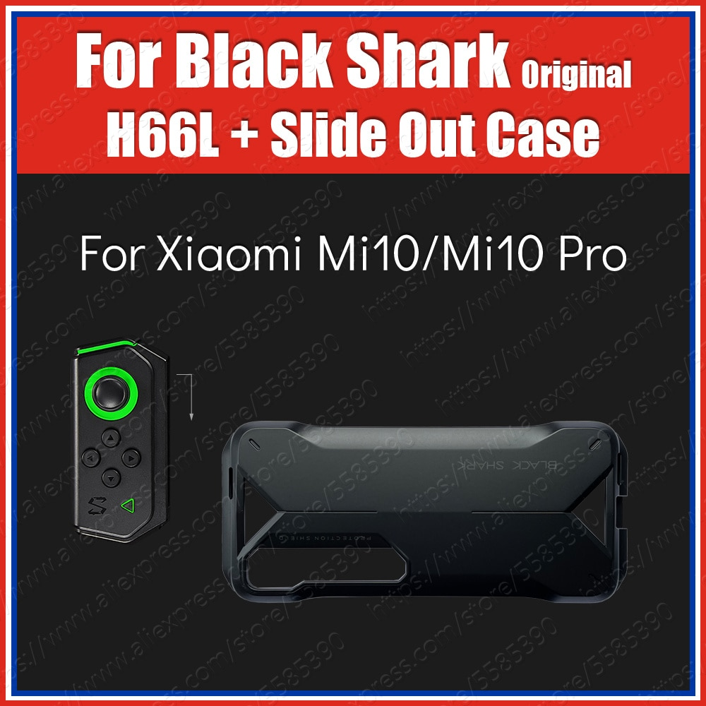 Black Shark Gamepad H66L With Slide Out Handle Case For Xiaomi 10 Mi10 Pro Game Controllers
