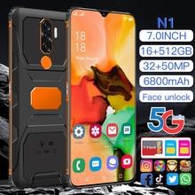 N1 2021 New Global Version 7.0 inch Smartphone Deca Core 6800mAh 16+512GB Dual SIM Full Screen 4G 5G