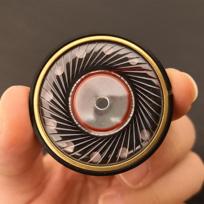 40 мм 32 Ом наушники Динамик блок полный диапазон HiFi DIY 16 ядер магнитные наушники драйверы 117 дБ/Вт