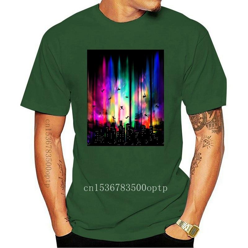 New 2021 Coming Mens Faddish T Shirt Without Gravity Manhattan City Cotton Tops ' Tee Customized Designer T-shirts Men