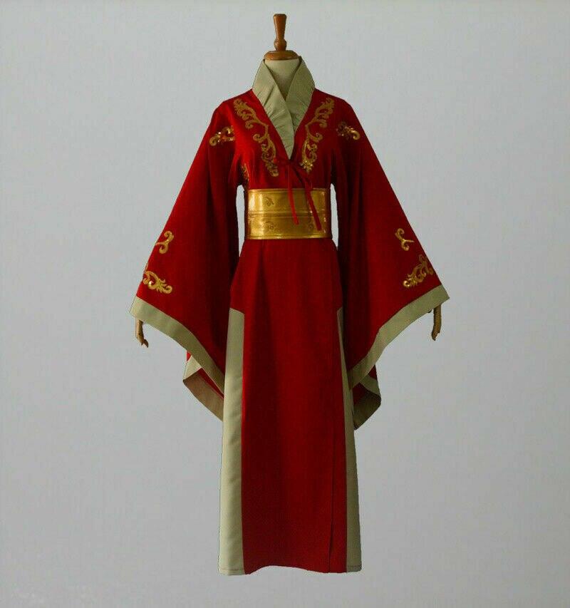 Traje rainha cersei lannister vermelho vestido de luxo jogo dos tronos fantasias cosplay