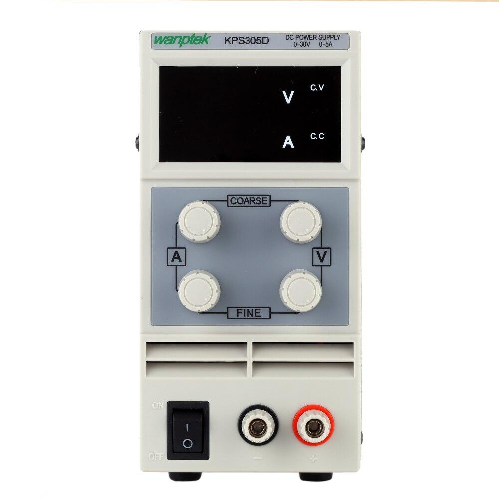 De pantalla 3 dígitos LED 0-30V 3A/5A Mini fuente de alimentación de CC Variable ajustable AC 110 v/220 V 50/60Hz