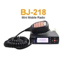 BJ-218 VHF/UHF double bande talkie-walkie 25W double affichage MINI Radio Mobile Radio jambon pour Taxi dautobus de voiture