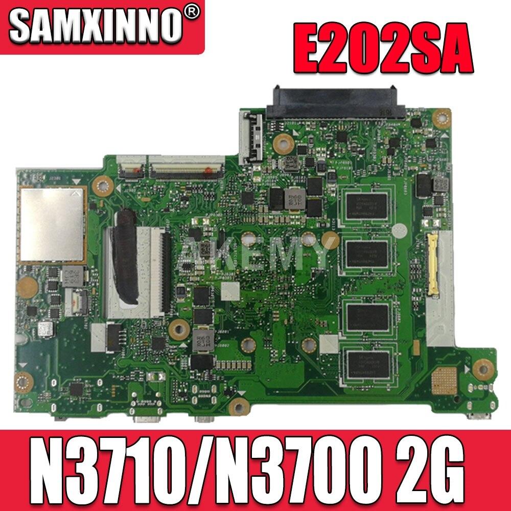 Placa base Akemy E202SA para ordenador portátil ASUS E202S E202SA placa base E202SA Placa base con 2G/4G N3050 N3060 N3700 N3710