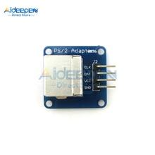 PS2 모듈 PS2 어댑터 보드 모듈 PS 2 마우스 키보드 소켓 Arduino 호환