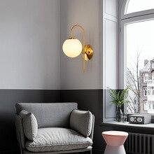 Loft appliques miroir lumière cristal chambre chevet couloir luminaria de parede chambre lampe