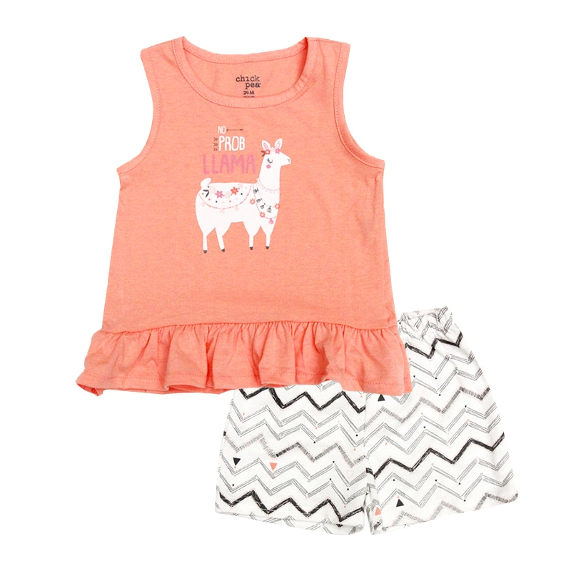 Baby Clothing Sets 12-24M Summer Baby Girls Clothes Infant cotton Girl Tops T-shirt+Pants Outfits kids clothes Set 5pcs set newborn infant baby suits boys girls kids clothes sets tops pants bibs hats girl clothing set for baby girls outfit