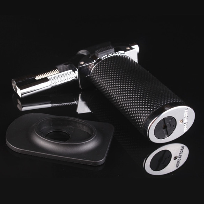 Meta Free fire and straight fire lighter Butane Jet Kitchen Spray Gun Torch Turbo Lighters BBQ Outdoor Cigar Windproof Lighter enlarge