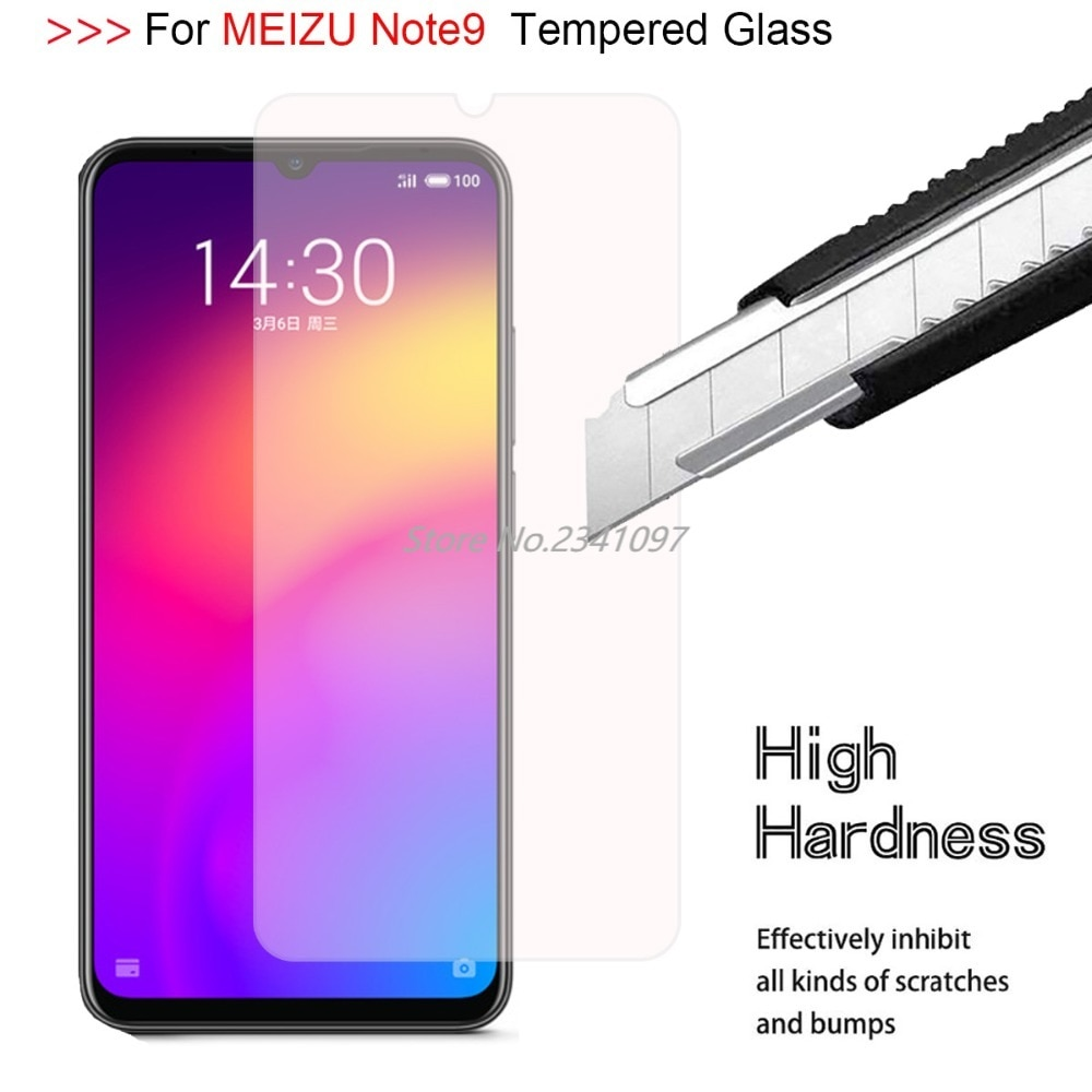 9H 2.5D Tempered Glass Case for MEIZU Note9 Ultra-thin Tempered Glass for MEIZU Note 9 Scratch Proof