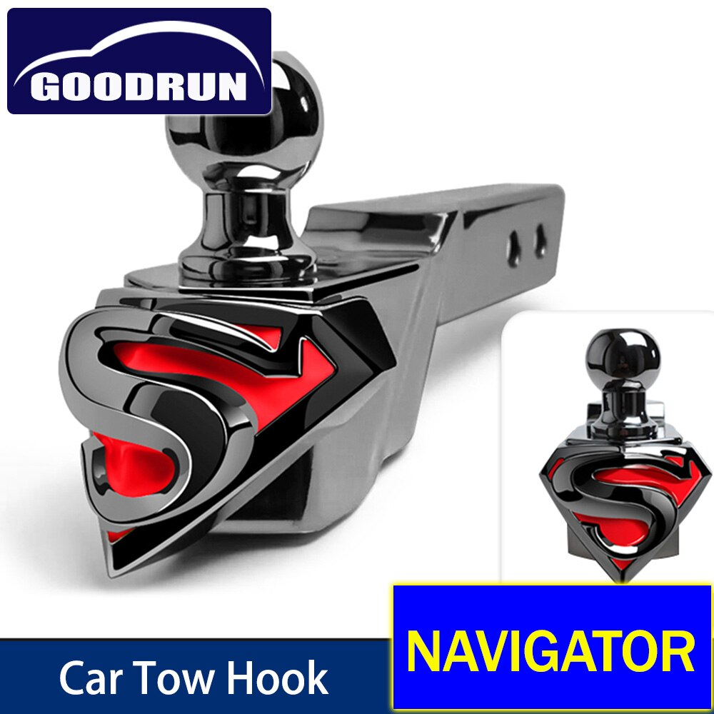 For Lincoln NAVIGATOR Car Exterior Accessories Safety Latch Winch Trailer Tow Hook