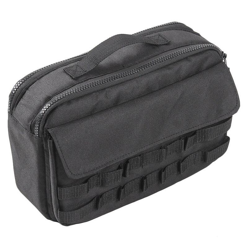 Kit de herramientas para coche, organizador, bolsa de almacenamiento con bolsillos, apto para Jeep Wrangler Jk 2007-2018 Cross