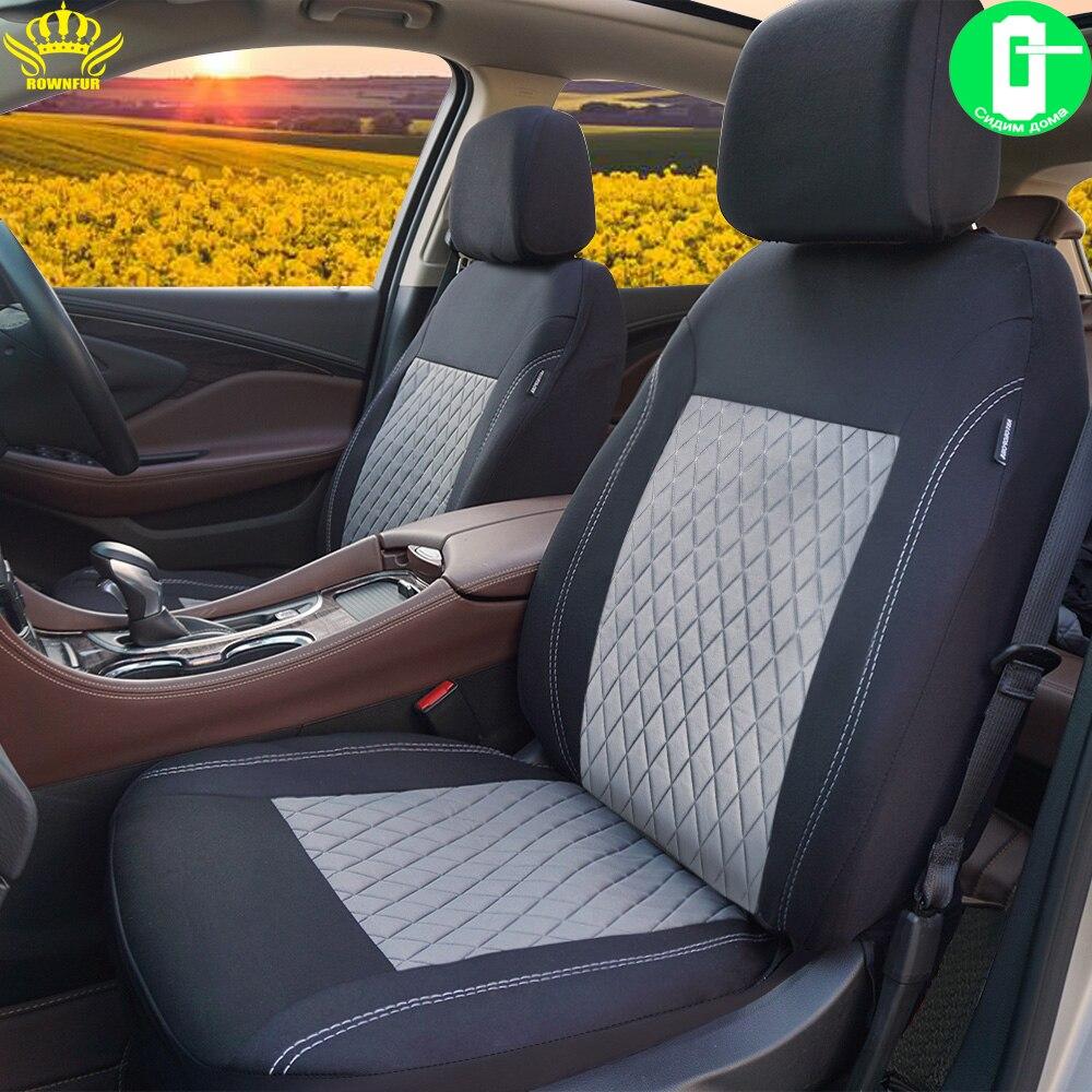 Offre spéciale 10 pièces, 4 pièces   Housses de sièges de voiture universelles adaptées à la décoration et à la protection des sièges de voiture pour hyundai solaris