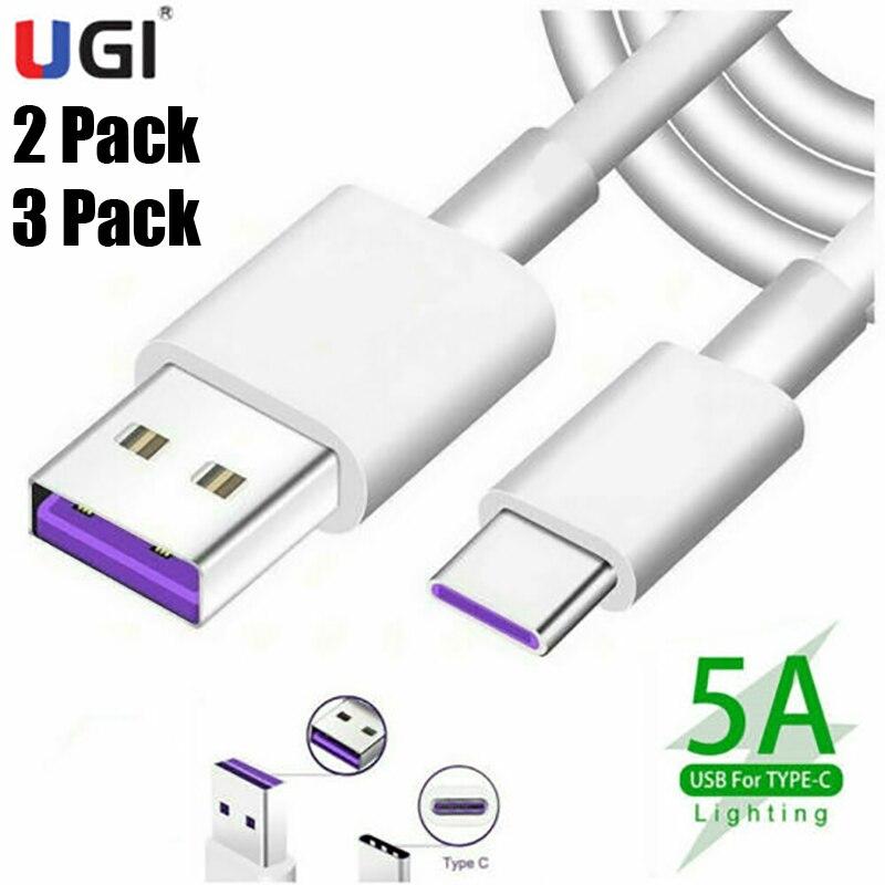 UGI 5A de Cable de carga rápida de paquete de 2/3 tipo...