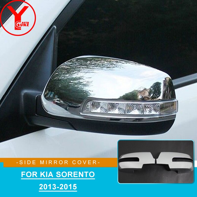 Housing Shell Outside Reverse Mirror Cap Side Rearview Mirror Cover For Kia Sorento Hatchback 2013 2014 2015 Car Decoration