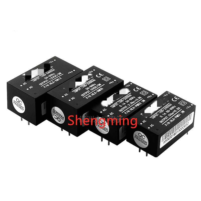 HLK-PM01 HLK-PM03 HLK-PM12 AC-DC 220V para 5V/3.3V/12V mini fonte de alimentação do módulo, módulo de alimentação interruptor de casa inteligente