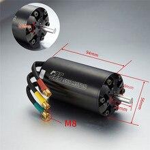 Moteur sans brosse haute puissance KV800/1000/1200 5694 moteur étanche 6 pôles pour accessoires de mise à niveau de modèle davion de voiture de bateau de RC
