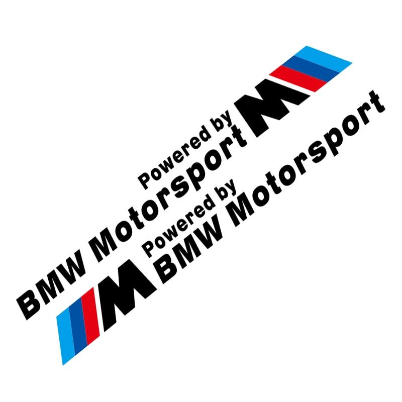 TAIYAO-autocollants de porte sport   Pour BMW M1 M2 M3 M4 M5 Z4 X1 X3 X5 X6 X7, autocollants de voiture