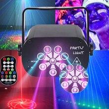 Laser lumière stroboscopique 8 trous 120 modèle rvb Laser lignes faisceau scanne DJ barre de danse maison fête Disco effet éclairage système déclairage