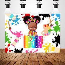 Sxy0260 patron africain bébé thème toile de fond physique bannière filles personnalisé photographie Photo fête danniversaire décoration
