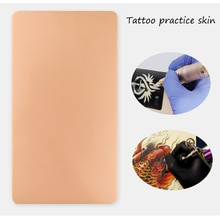 10Pcs 3D Tattoo Practice Skin Sheet Blank Plain for Tattoo Needle Machine Supply  Makeup pigment Kit Tattoo Tools