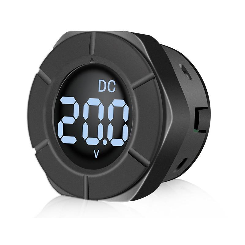 Voltímetro LCD Digital pantalla voltímetro DC 0-300V para electrodomésticos tuberías de prueba electrónica de vehículos