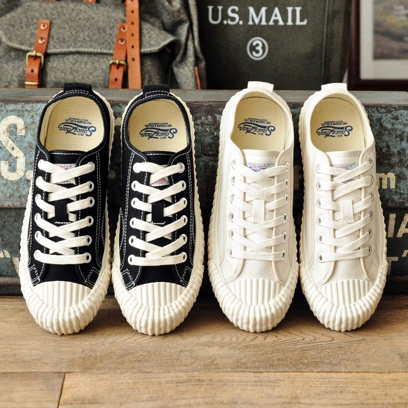 SauceZhan الرجال تفلكن أحذية قماش أحذية منخفضة أعلى أحذية البسكويت أحذية عشاق الأحذية النمط الأمريكي خمر أحذية تزلج