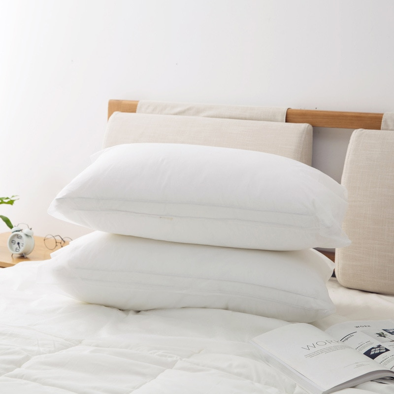 1 Uds blanco de Salud y Seguridad engrosada artículos de viaje Blanco no tejido desechable funda de almohada Dropshipping. Exclusivo./venta al por mayor