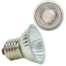 25/50W Reptile Heating Lamp Adjustable UVB Turtle Sunburn Lights Full Spectrum Sunlamp Warm Heat Preservation Illumination